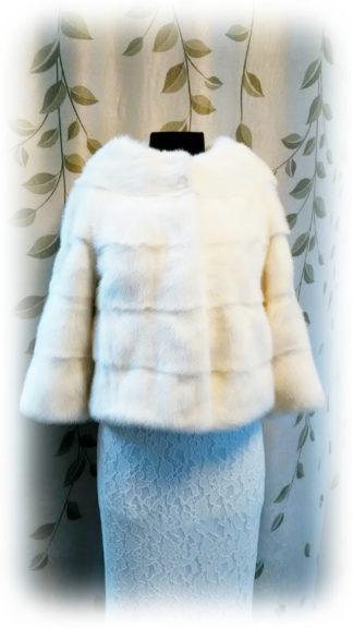 Фото Белая норка - поперечка, модель НМ86