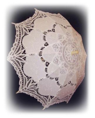 Свадебный зонтик Ева модель Знт05 фото