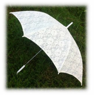 Свадебный зонт айвори модель Знт18 фото