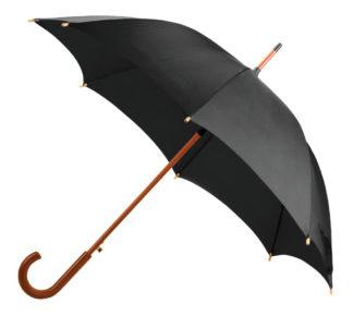 Черный зонт-трость модель Знт09 фото