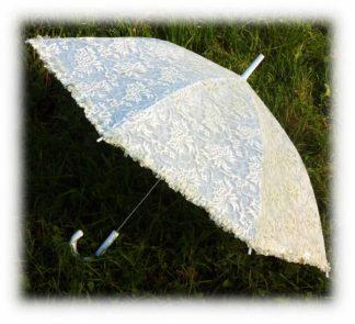 Зонт шампань с блеском Луиза модель Знт15 фото