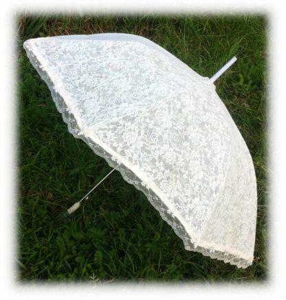 Свадебный зонт айвори Селестина модель Знт06 фото