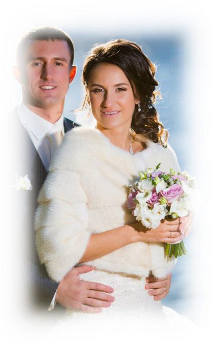 Фото Свадебная норковая шубка Шанель, модель НМ01
