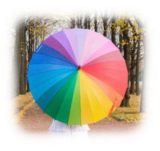 Зонт Радуга модель Знт12 фото