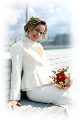 Свадебный жакет пиджачок напрокат