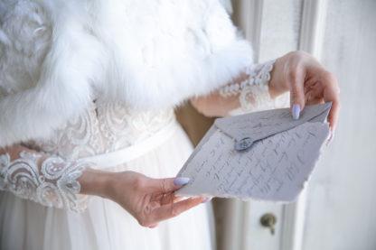 Свадебная натуральная накидка напрокат